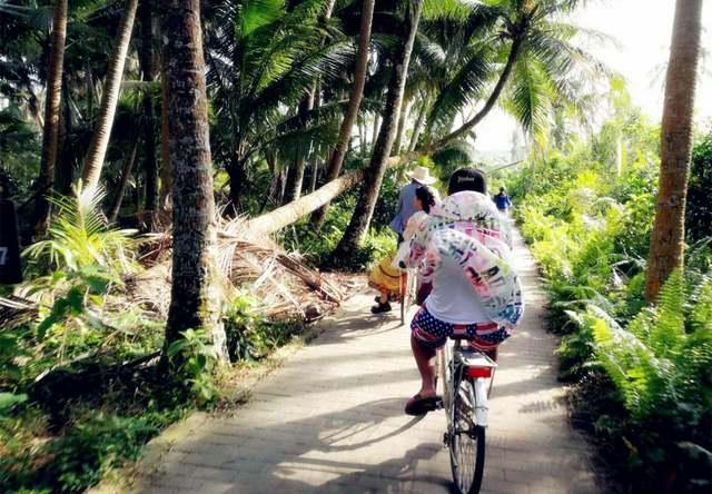 骑行椰岛,玩转海南