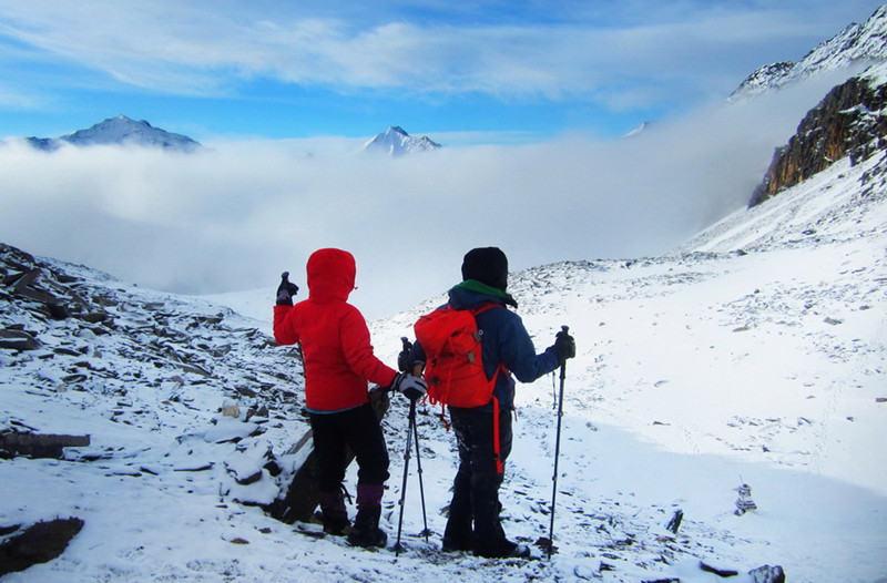 四姑娘山长坪沟徒步、二峰攀登(挑战人生中的5000米)