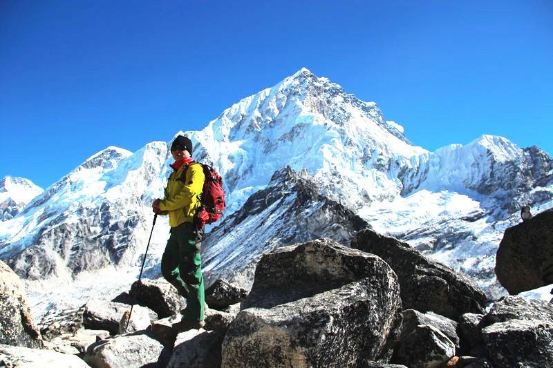 尼泊尔珠峰南坡EBC徒步