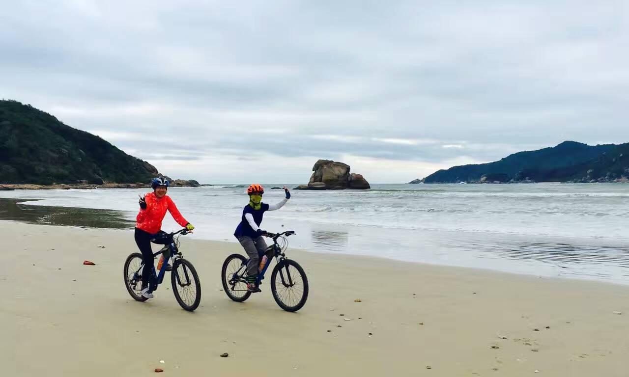 海南东海岸休闲骑游,不一样的单车旅行