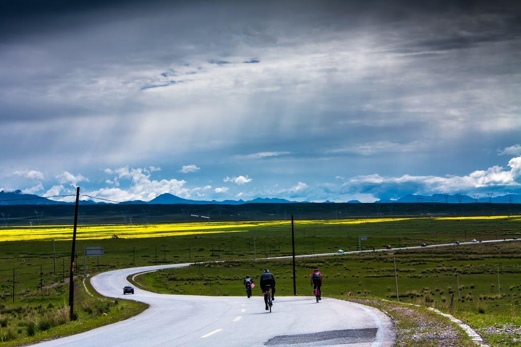 用车轮去丈量风景,用360公里的路程重识青海湖