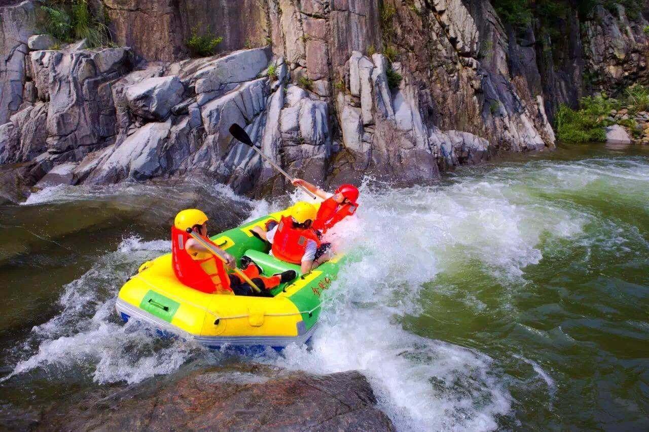 金刚台峡谷漂流,精彩活动等你来