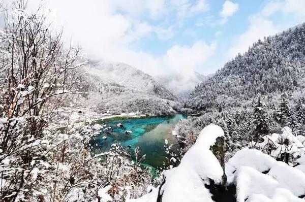 冬季恋歌漫游九寨沟、邂逅一位四姑娘(山)、漫游海螺沟七日游