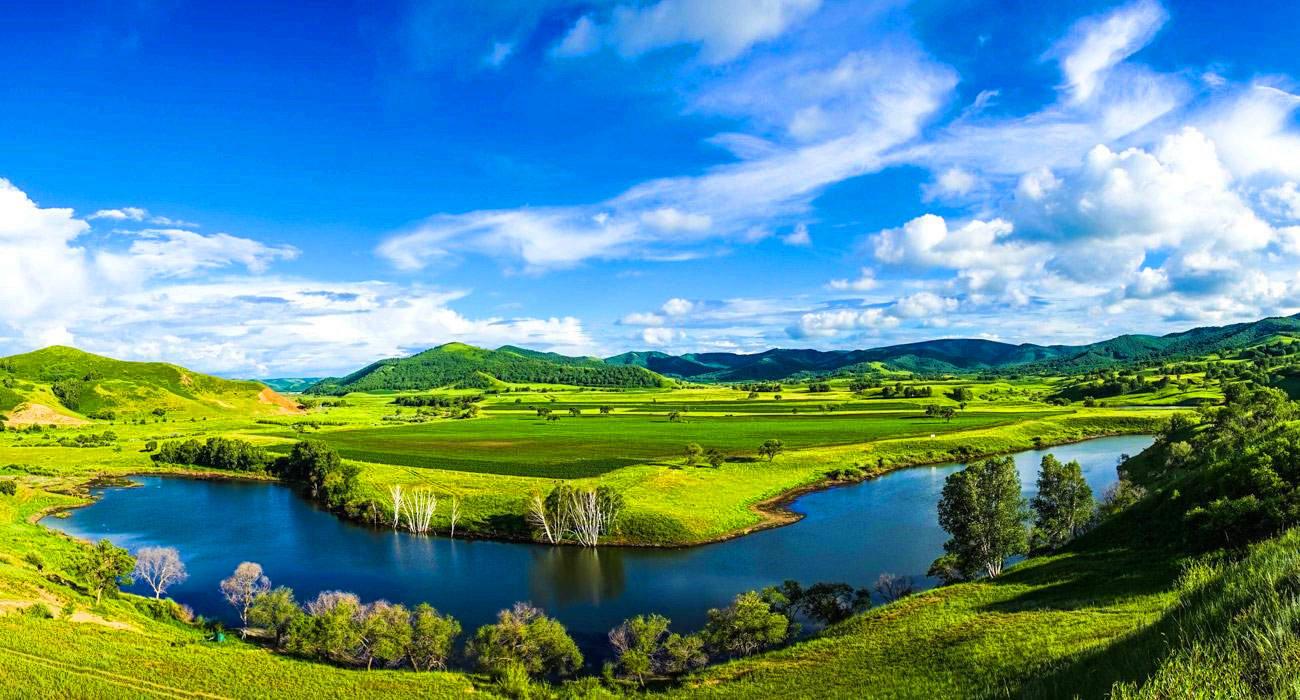 乌兰布统草原摄影,避暑的天堂