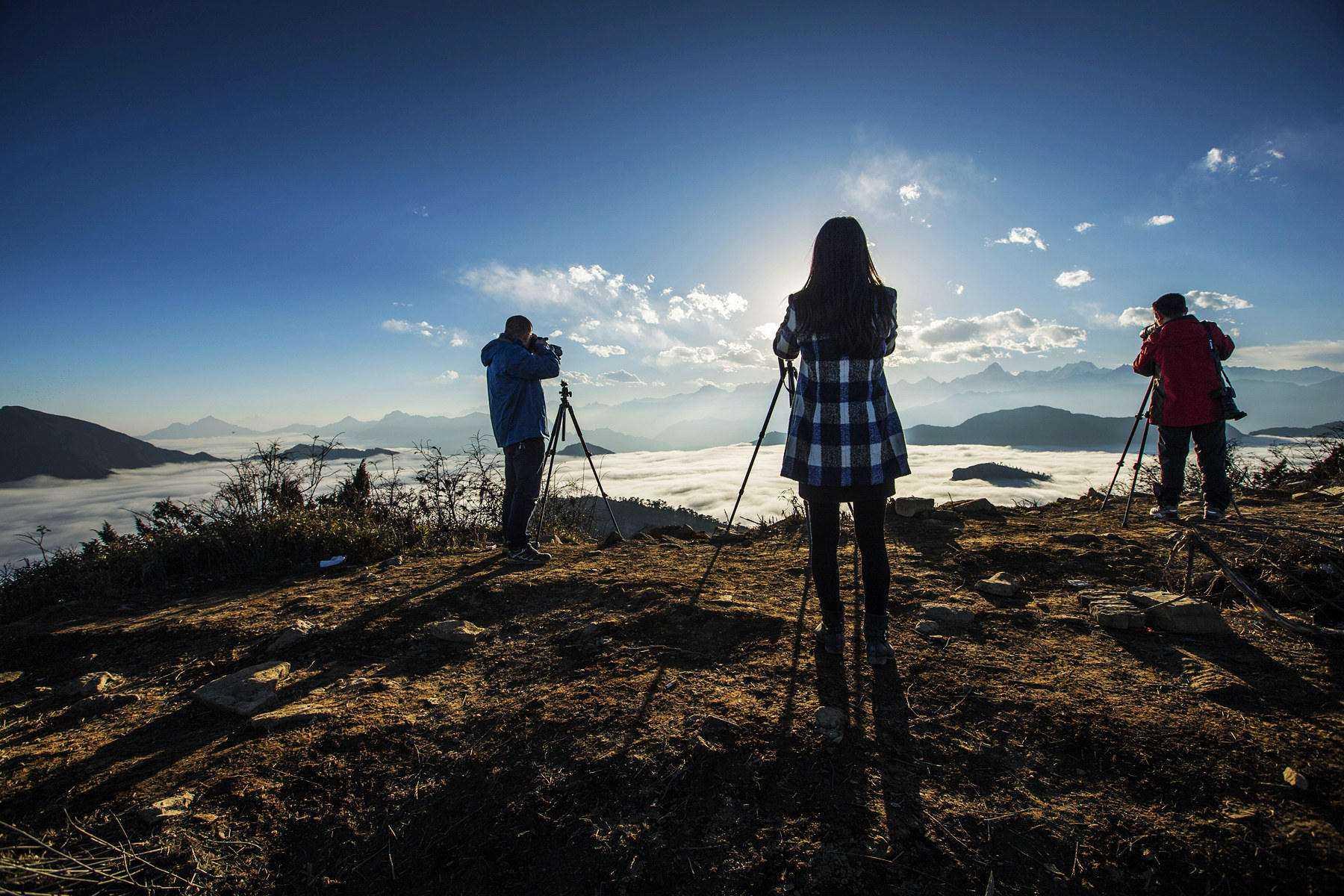 行摄四人同,在悠然的风景中让镜头陶醉