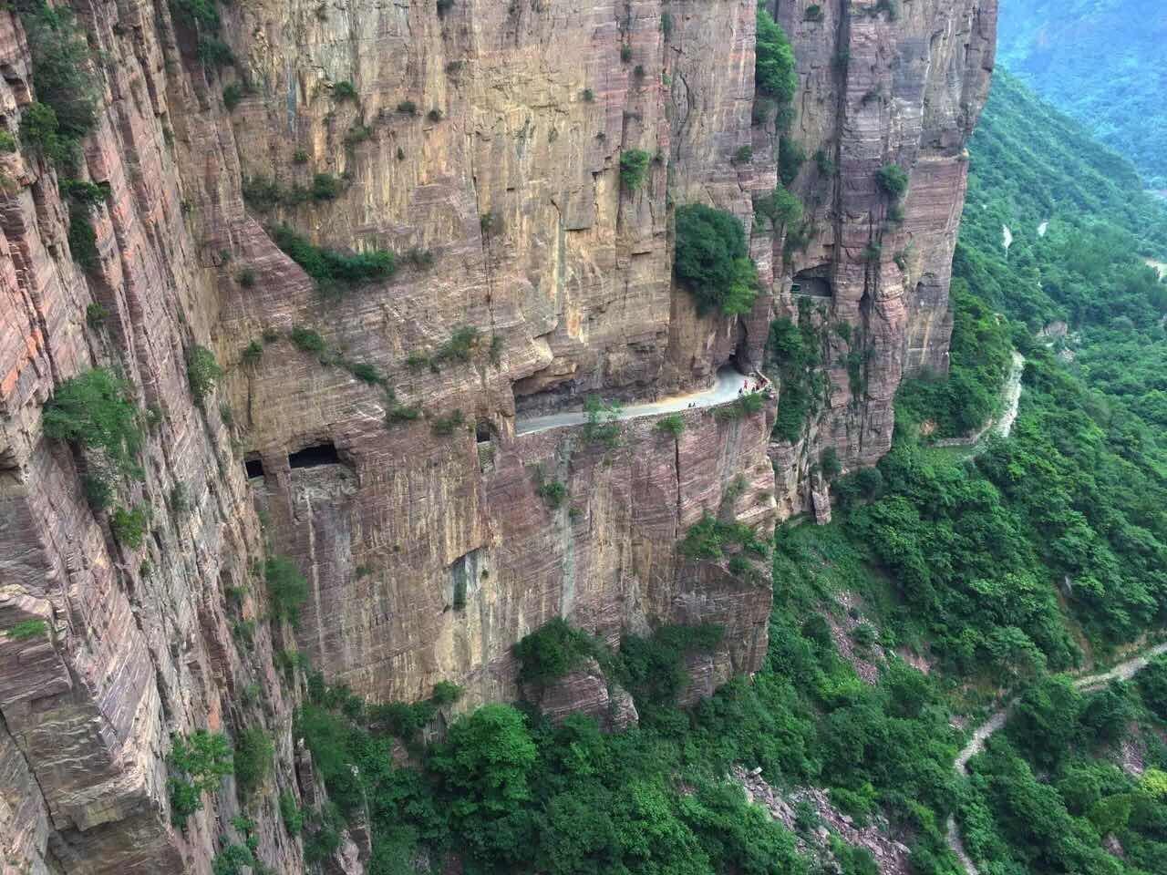 上天入地,穿越挂壁,看天鹅,逛地坑,豫晋两省美食之旅