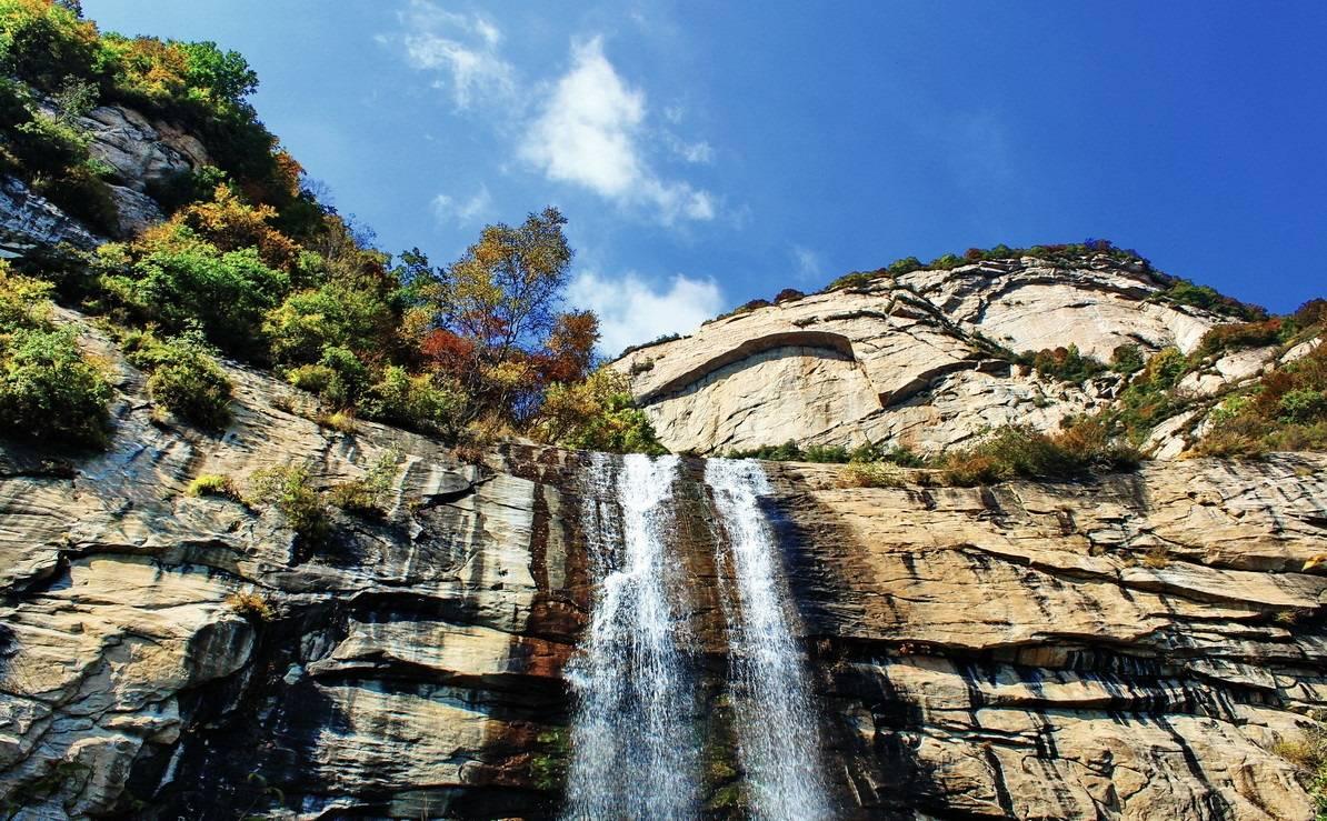 徒步天生桥瀑布—看北方最大的瀑布群