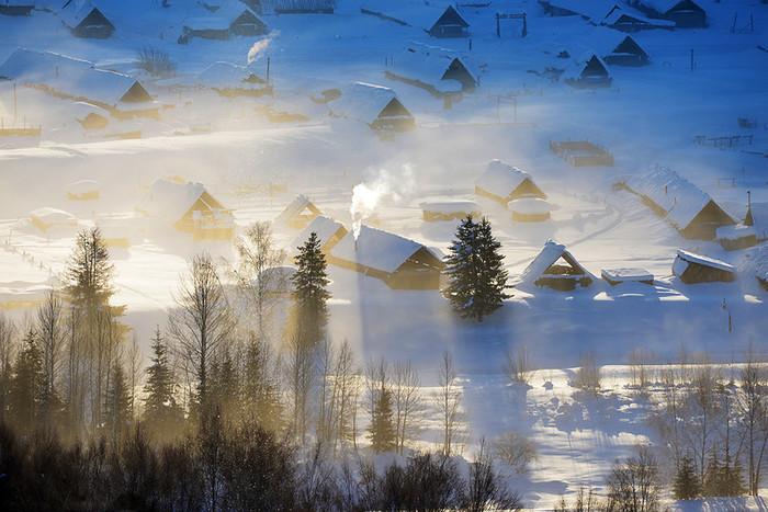 春节自驾北疆冬韵冬天的北疆,美的惊为天人