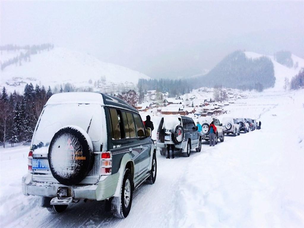 童话王国纯净雪乡,冬季喀纳斯来看雪
