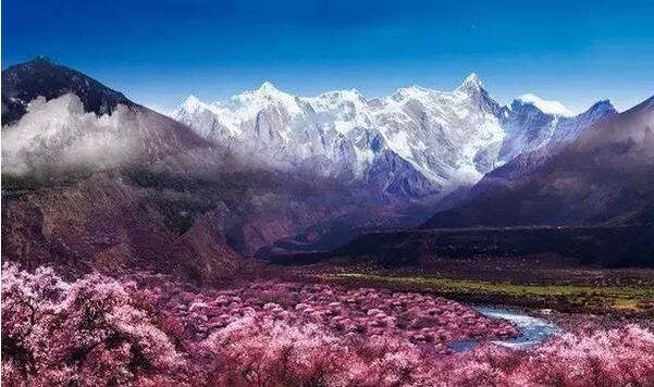 西藏各市风景图介绍