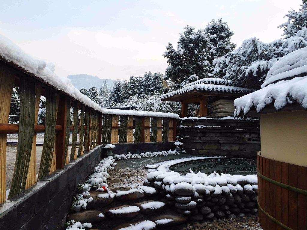 冬日里的温暖,周公山温泉与你共温暖