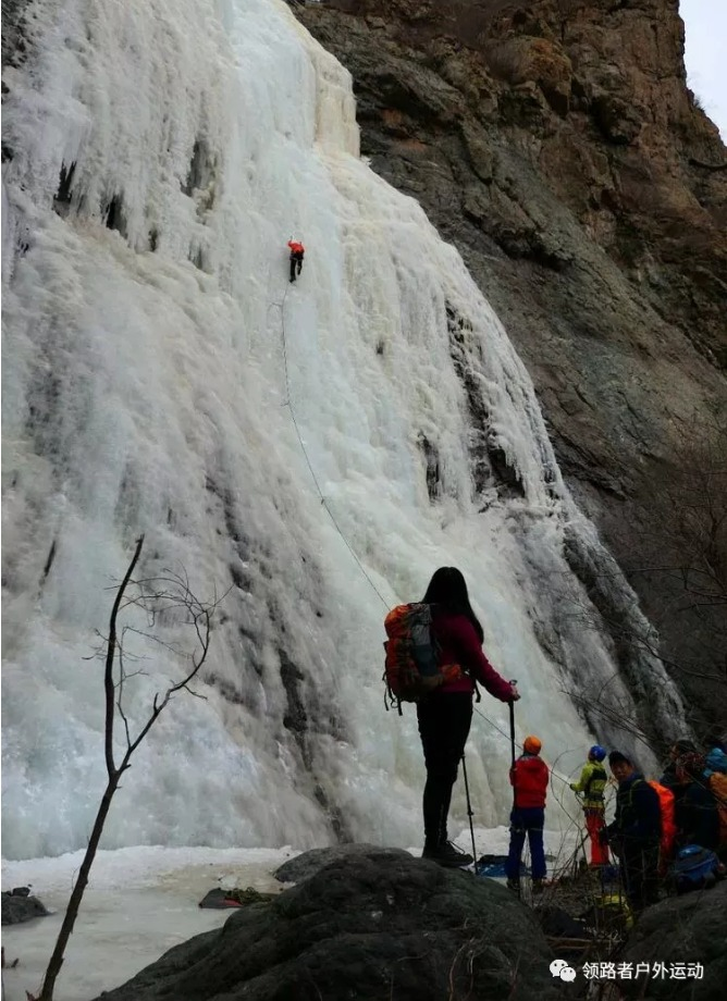 2月3日,京西十八潭冰瀑群一日穿越