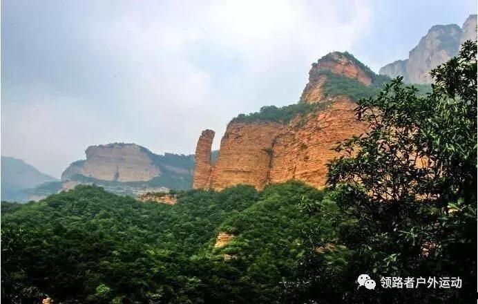 不恋名山不恋川,只叹神奇阴阳山--4月22日,绳降半个瓮,探秘阴阳山一日徒步穿越