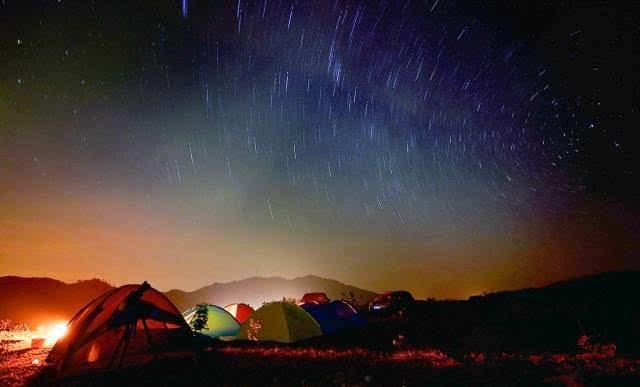 五一假期天桥山篝火、露营、数星星!