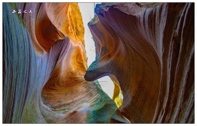 陕西雨岔、波浪谷之行——观瞻大自然的神奇造化
