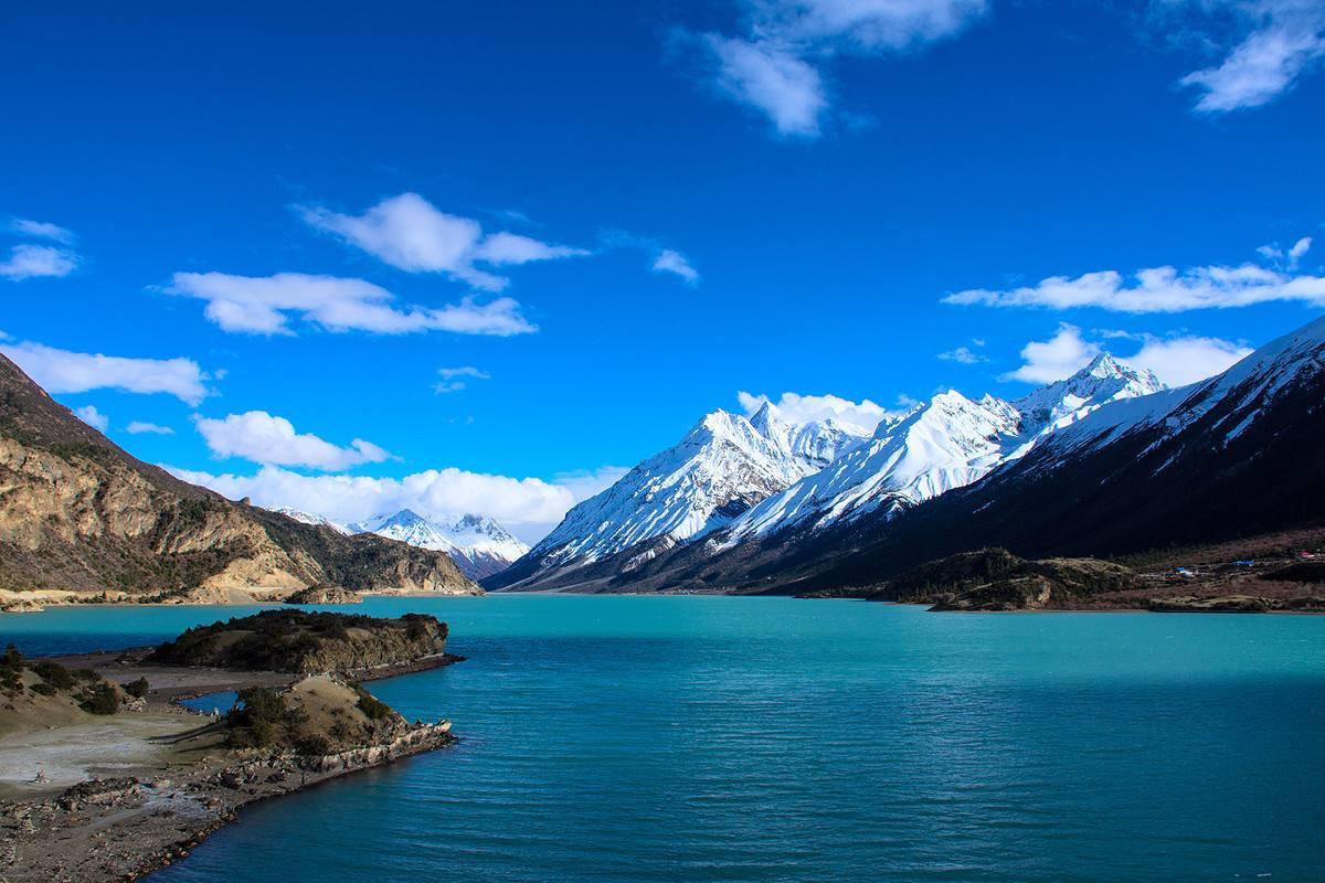 川藏自驾自由行摄,一眼看够金川丹巴新都桥,林芝然乌羊卓雍措