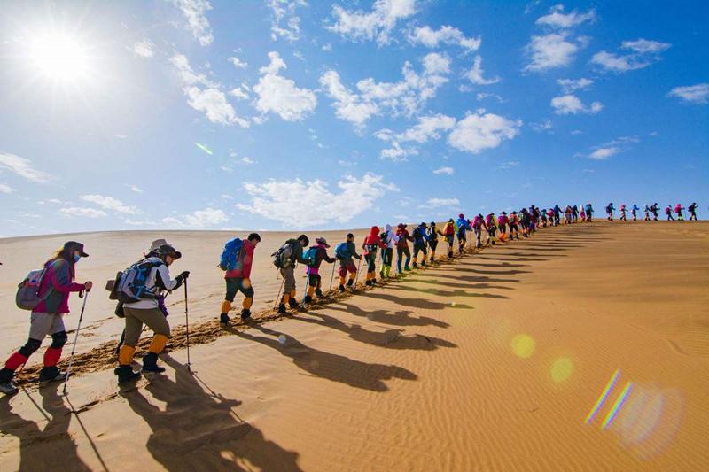 沙漠与少年,拒绝冬眠!腾格里沙漠冬令营招募令