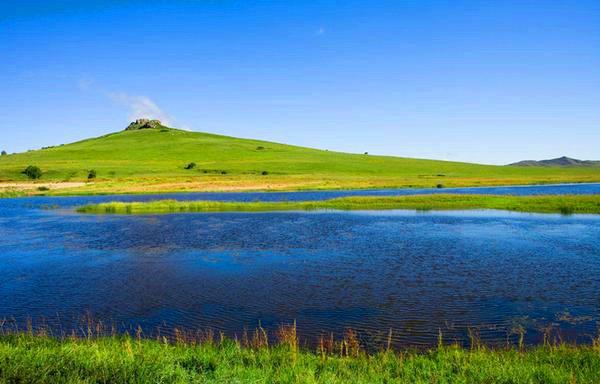 行摄乌兰布统草原,公主湖影视基地