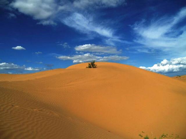 秘境库布齐,北岸至南岸穿越,一场征服自我的沙漠之行