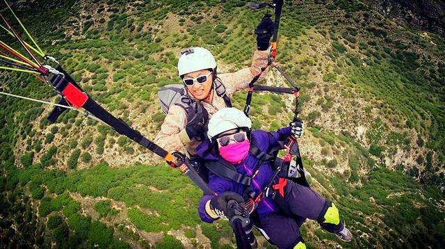 御風飛翔,滑翔傘雙人帶飛體驗活動
