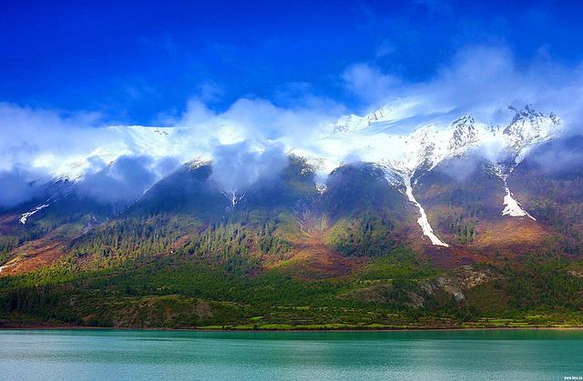 深入林芝桃花节,行摄米堆冰川羊卓雍错雅鲁藏布江大峡谷,秘境藏地行