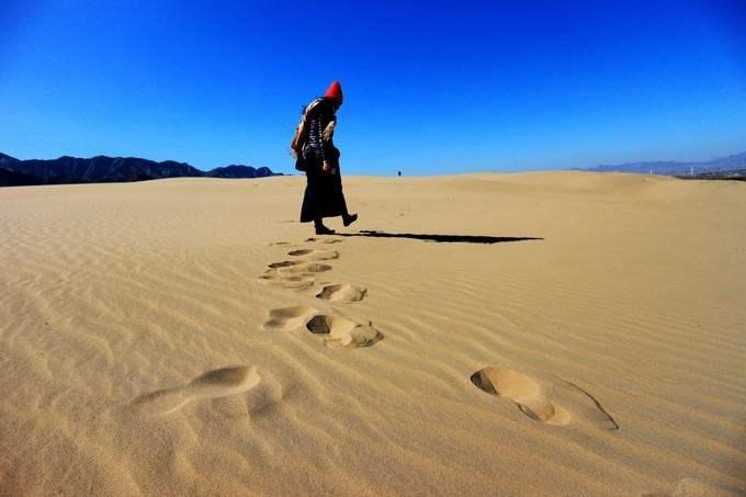 踏大漠黄沙,观官厅水库风车群,体验玩出不同