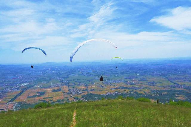 滑翔伞体验,和我们一起翱翔