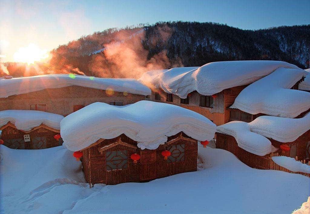 行摄雪乡雾凇岛,寻觅纯白国度,北国冰雪仙境