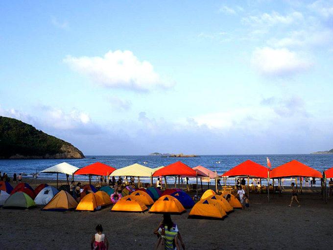 一起去看流星雨,面朝大海,露营在南韭山,寻找神鸟之岛