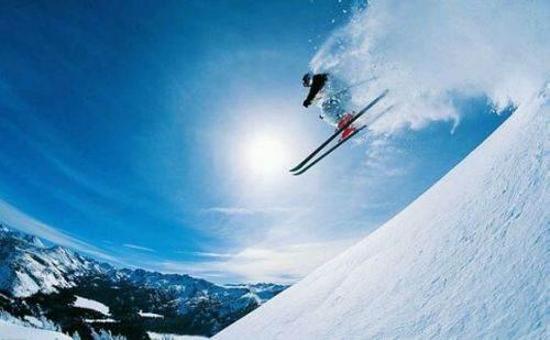 玉龙湾滑雪,雪场飞扬!