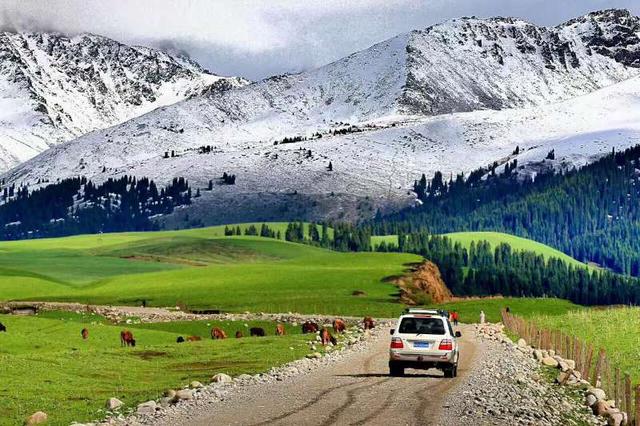 独库公路新疆最美天路穿越,喀纳斯库车南北疆行摄之旅