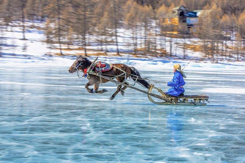 蒙古国库苏古尔湖冰雪那达慕摄影之旅