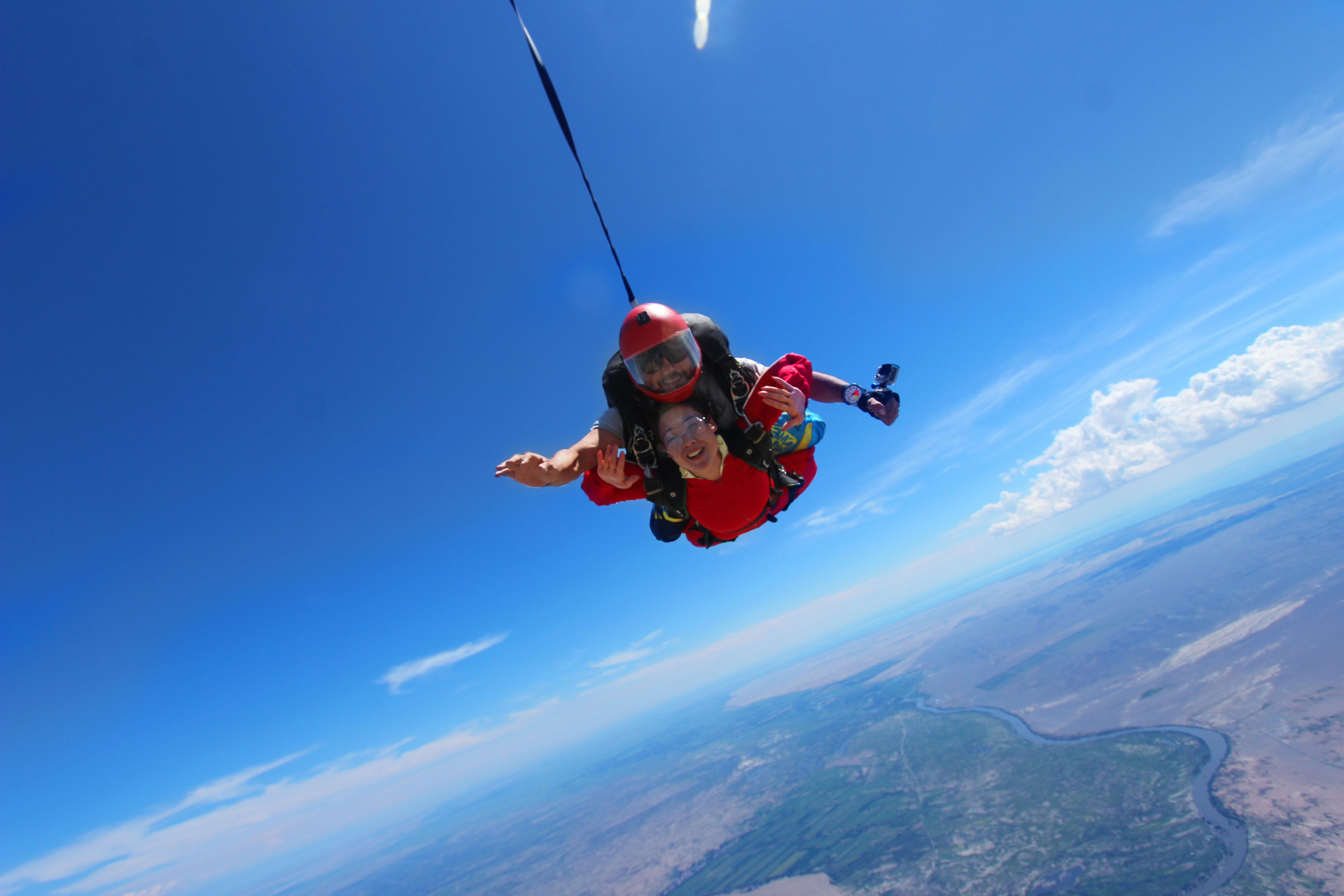 勇敢者的运动,高空跳伞