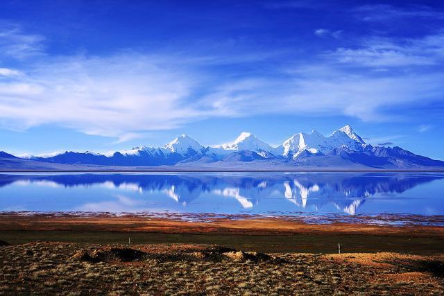 """""""西藏邊境線""""四國交界亞東,珠峰大本營,愛情湖多情措湖之旅"""