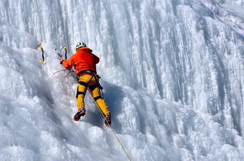 全国民间攀冰爱好者技能交流大会北京站