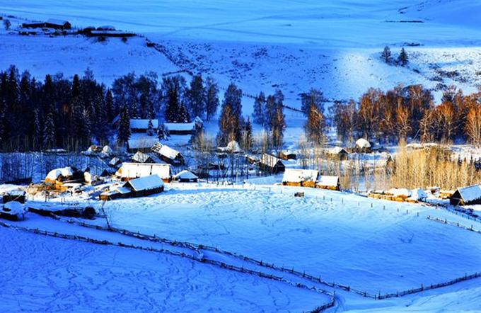 冬日喀纳斯,元旦、春节—冬日白哈巴,喀纳斯,禾木,我在童话雪世界等着你