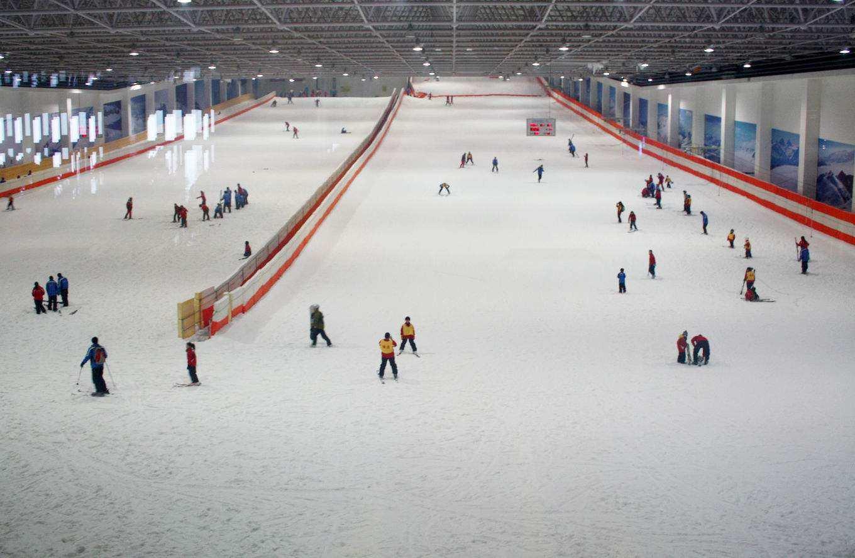 这个炎炎夏日,赴一场冰与火的旅行,绍兴乔波滑雪