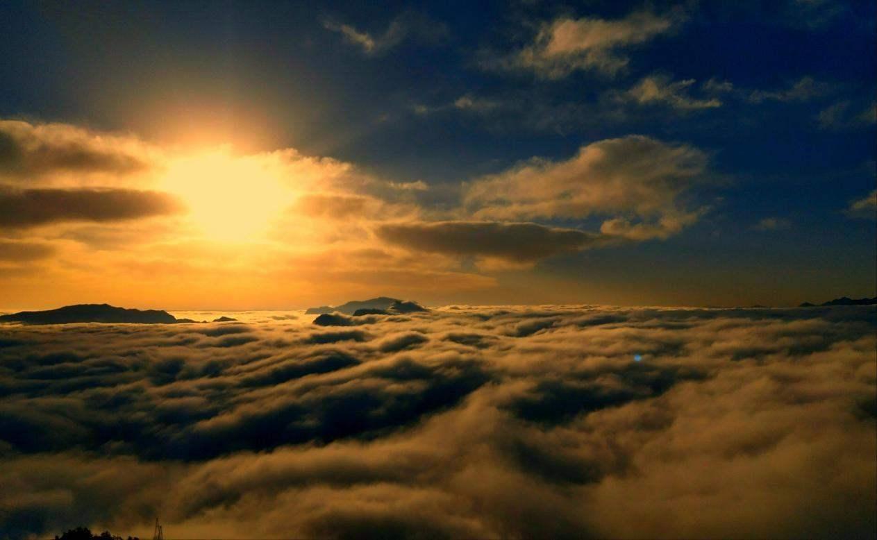 时光未央,岁月静好,红岩顶徒步