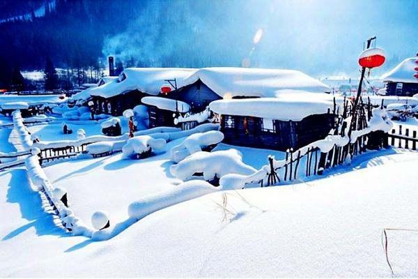 冰雪奇缘,雪谷、雪乡、长白山滑雪、吉林雾赏凇经典七日游