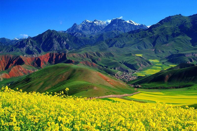 环青海湖、祁连山、盐湖、丹霞、塔尔寺6天行
