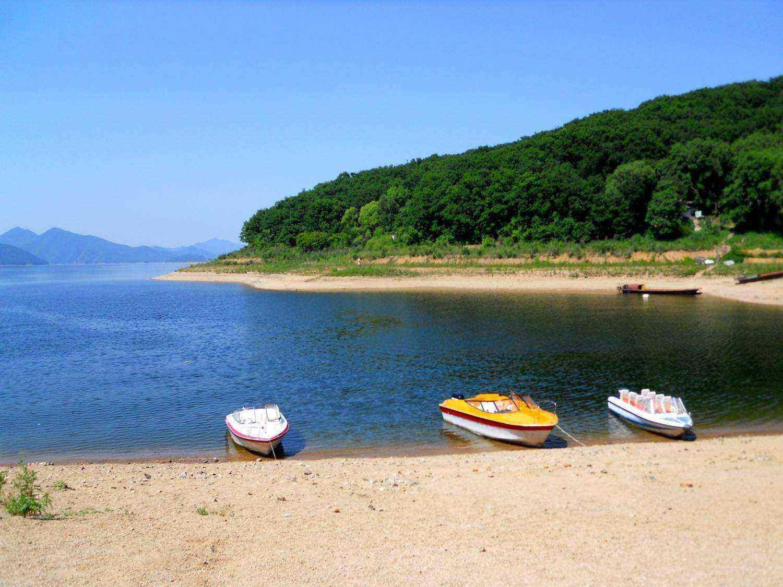 7月8号周末两日远山近水的味道,这个季节在松花湖露营最美