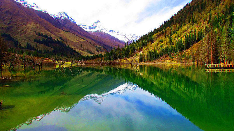 四姑娘山,丹巴藏寨,海螺沟7日游