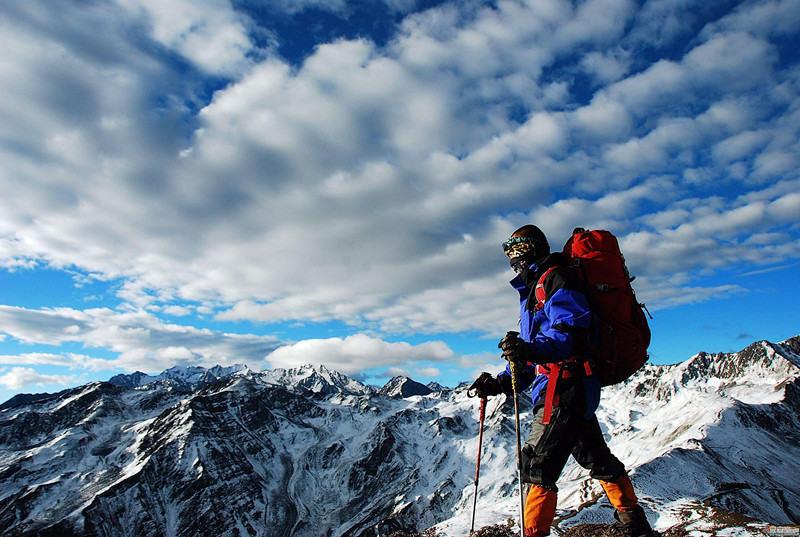 冰封山地 蜀山之王大环线完美穿越