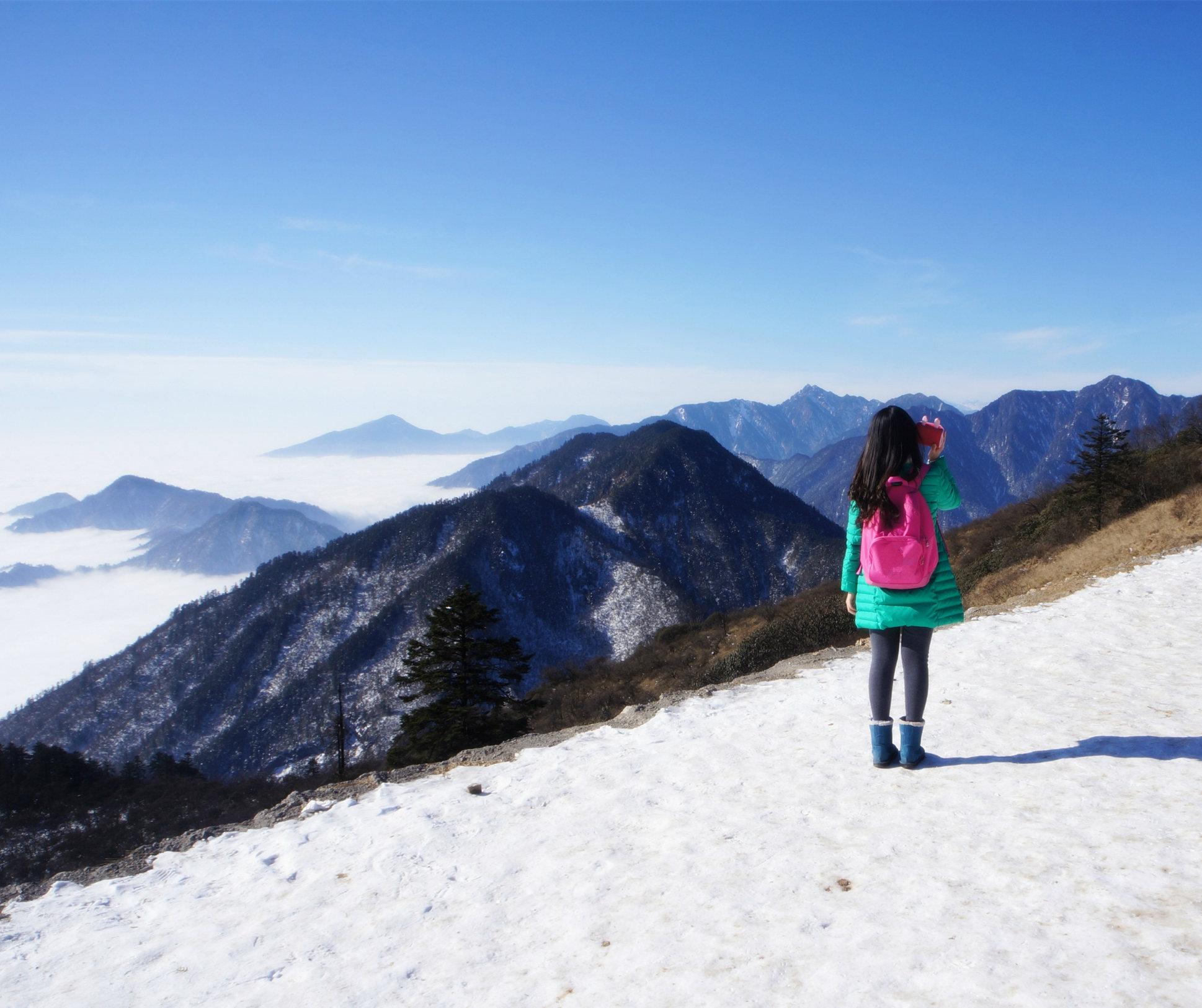 观西岭雪山云海,访安仁古镇风采