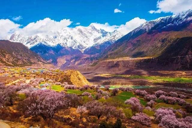 西藏三月风景图片大全山水真实