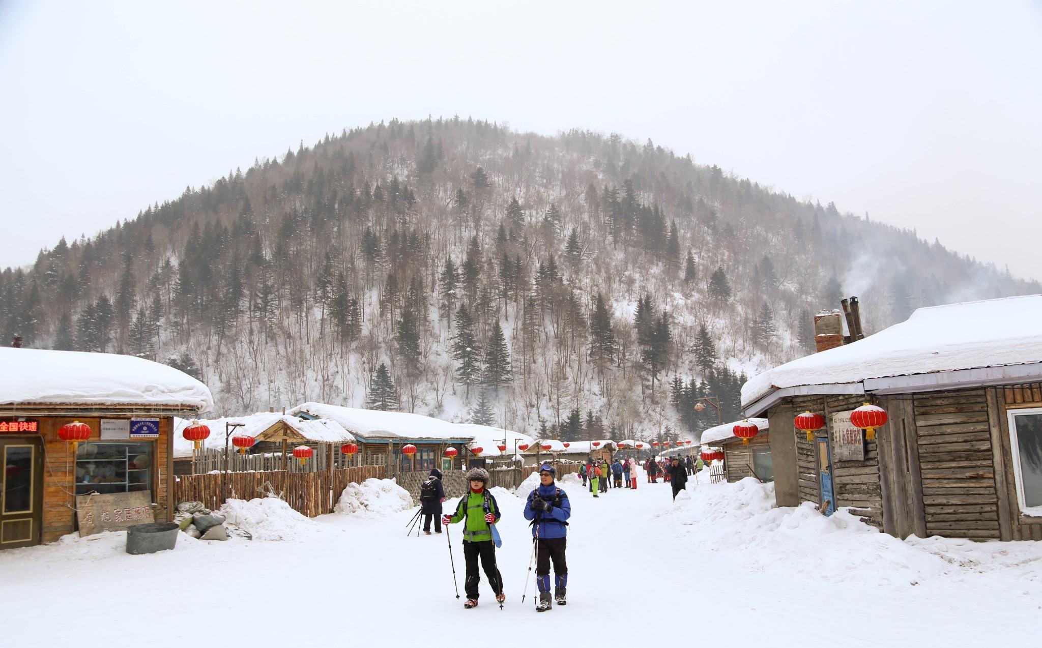 雪乡,雪谷,索菲亚教堂,3天玩转雪国冬天