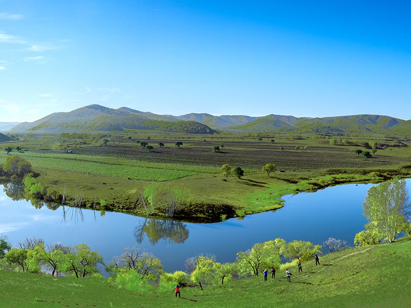 行摄玉龙沙湖达里湖,沙越岭去草原,走进美丽的乌兰布统草原