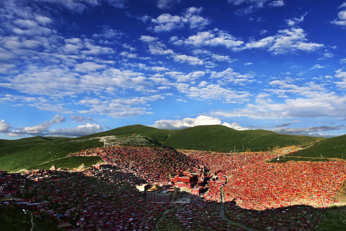 秘境川西 色达佛学院 党岭 莫斯卡 丹巴藏寨8日行摄