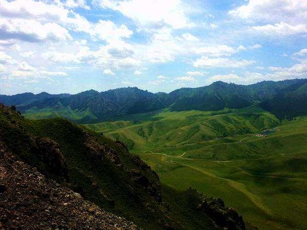 南山平西梁子-天山大峡谷徒步穿越风光摄影