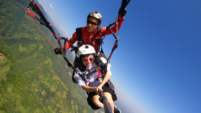 体验飞翔的感觉,真正的无动力飞行,来了你就知道